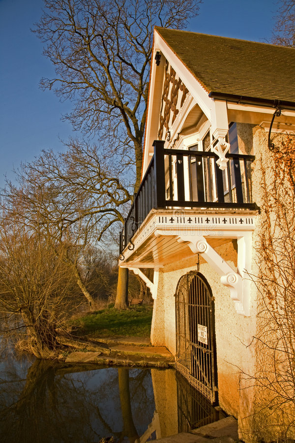 Free Thames River Boathouse Royalty Free Stock Photos - 4352978