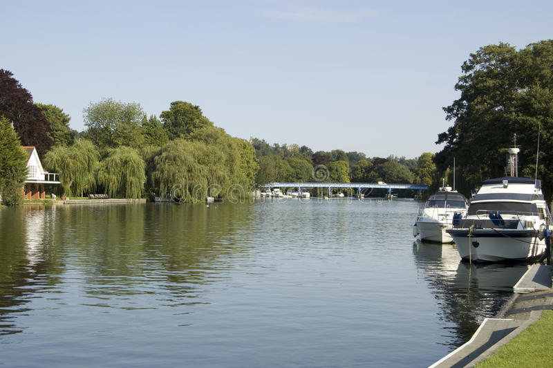 Download Thames view from Cookham stock image. Image of relaxing - 27129859