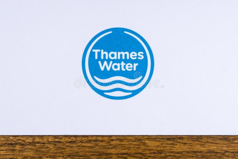 Thames Water Logo royalty free stock image