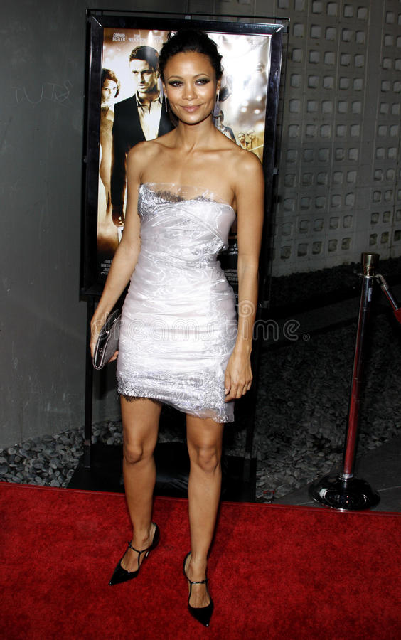Thandie Ньютон стоковые фото