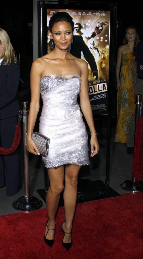 Thandie Newton imagem de stock royalty free