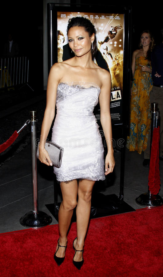 Thandie Newton. 06/10/2008 - Hollywood - Thandie Newton at the Los Angeles Premiere of `RocknRolla` held at the ArcLight Theater in Hollywood, California, United stock photos