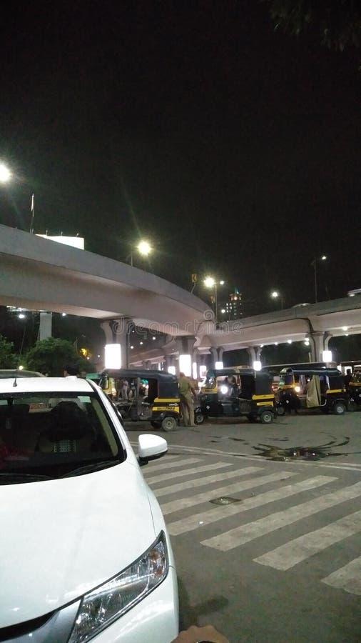Thane flyover CreeperIndia stock photos