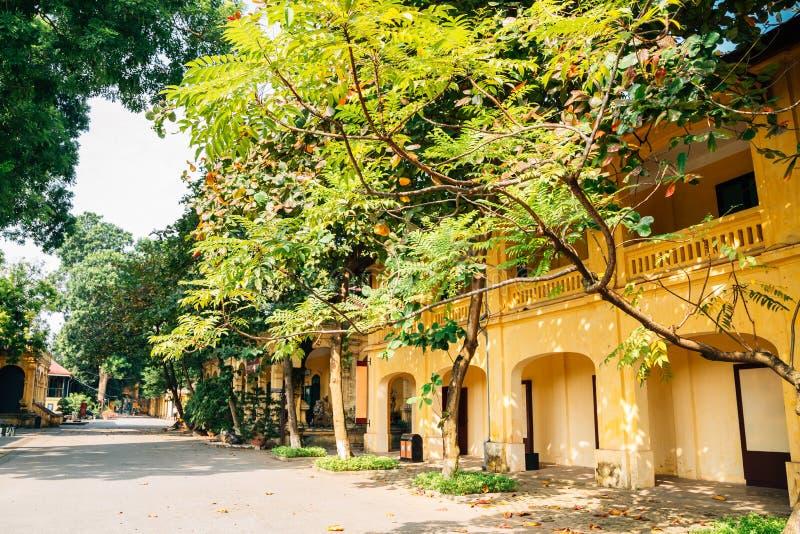 Thang Długi Cesarski miasto przy Hanoi, Wietnam obraz stock