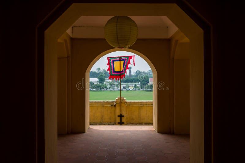 The Thang Long Citadel in Hanoi, Vietnam stock photos