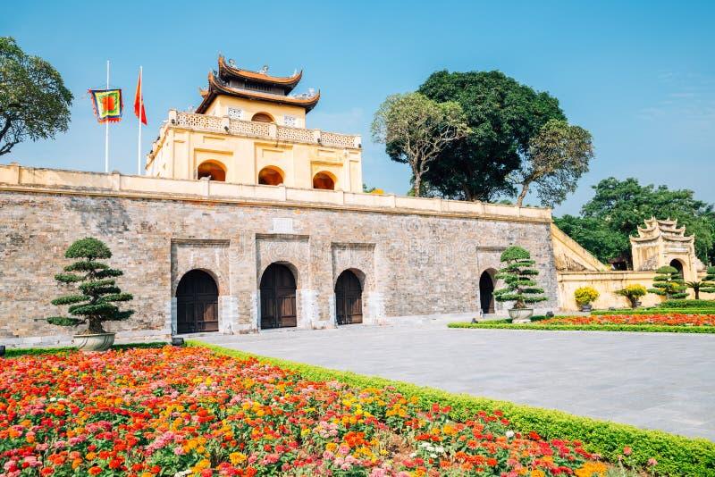 Thang Long Imperial City at Hanoi, Vietnam royalty free stock photography