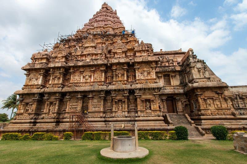 Thanjavur świątynia zdjęcie royalty free