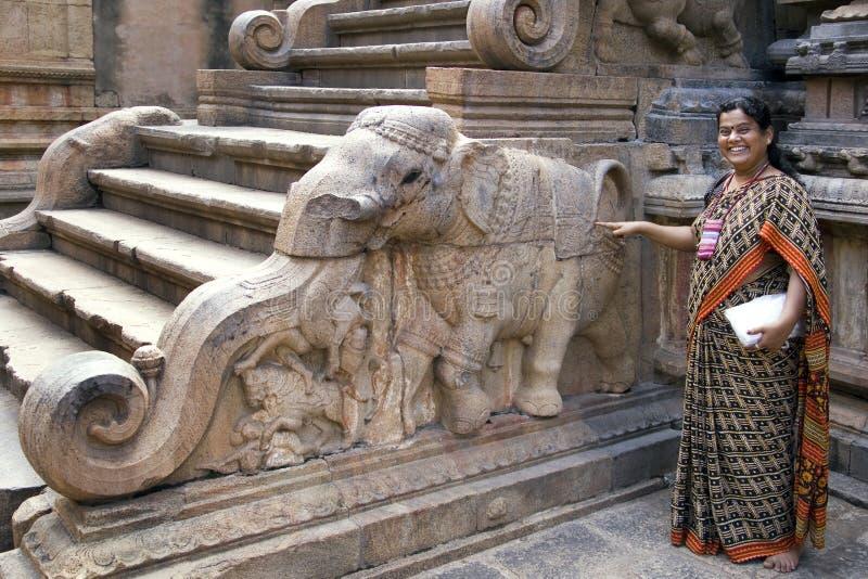 Thanjavur - Tamilski Nadu India zdjęcie stock