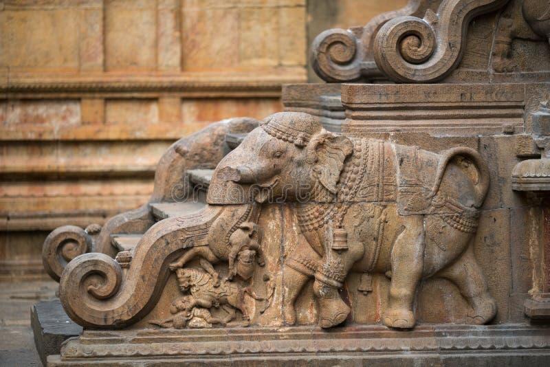Thanjavur tempel arkivbilder