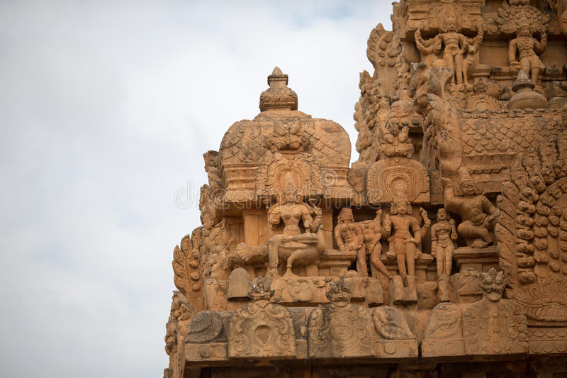 Thanjavur-Tempel lizenzfreie stockfotos