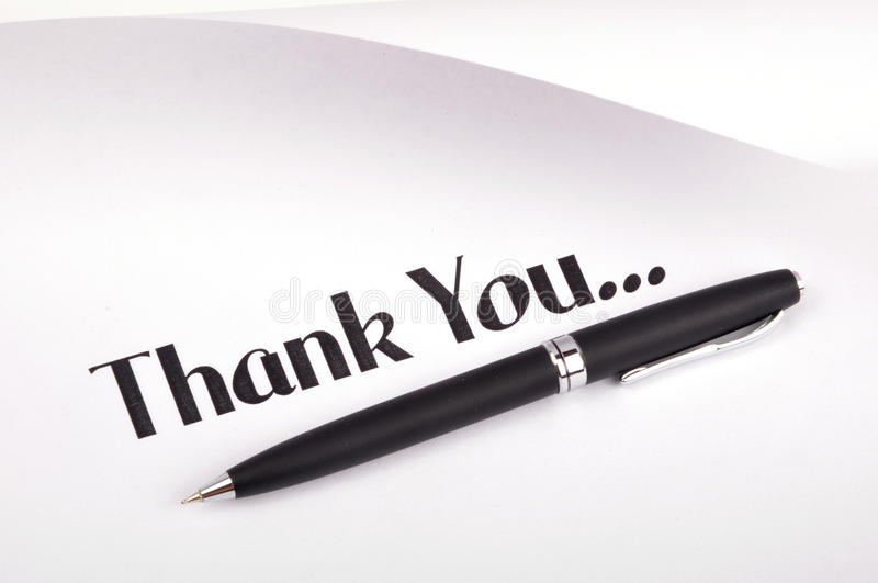 Download Thank you stock photo. Image of background, handwriting - 10840728