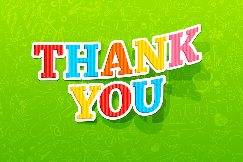 Download Thank You Stock Photo - Image: 25108390