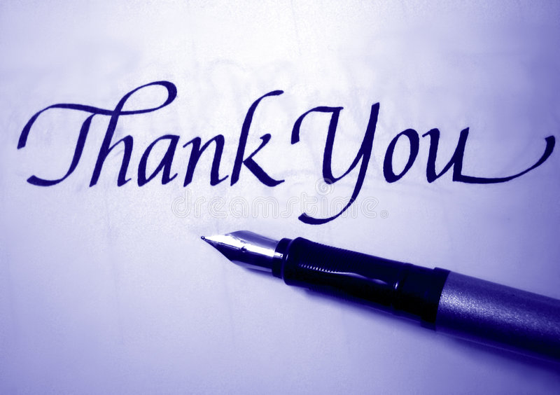 Download Thank You Royalty Free Stock Image - Image: 3156786