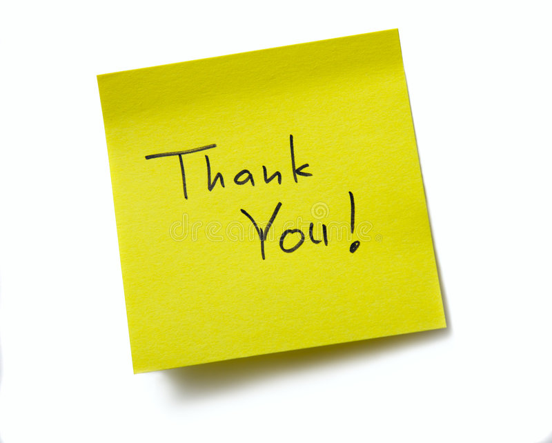Thank You ! stock photography