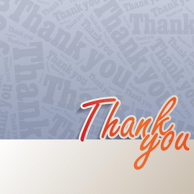 Free Thank You Background Royalty Free Stock Image - 33210386