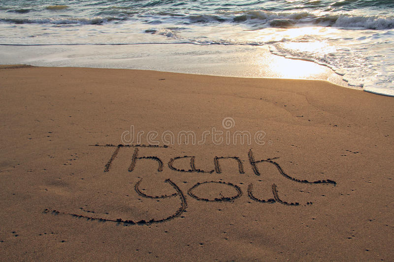 Download Thank you beach stock image. Image of thank, sunrise - 29206675
