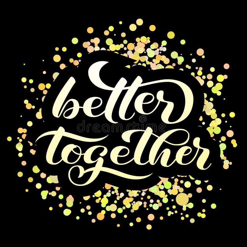 Thank you brush lettering. Vector illustration for banner. Or poster royalty free illustration