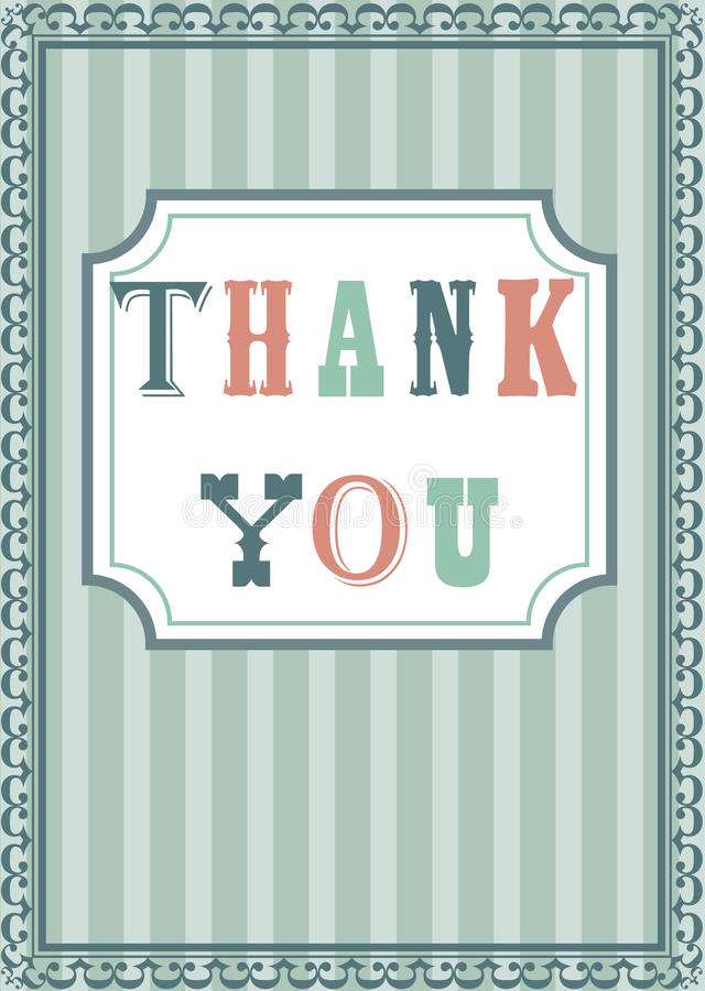 Download Thank You Card Stock Photo - Image: 15087540