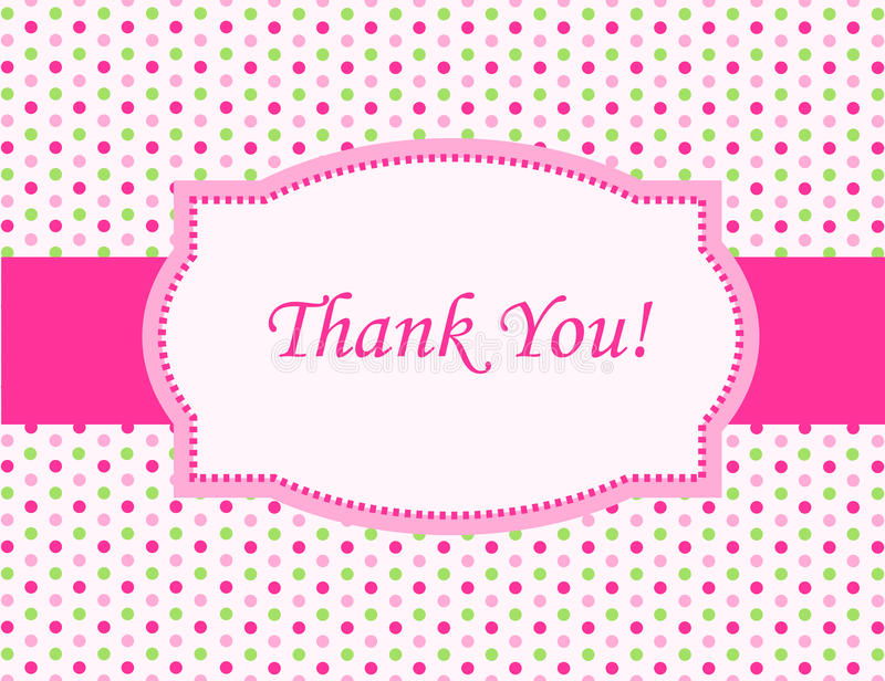 Download Thank You Card Royalty Free Stock Photography - Image: 21618127