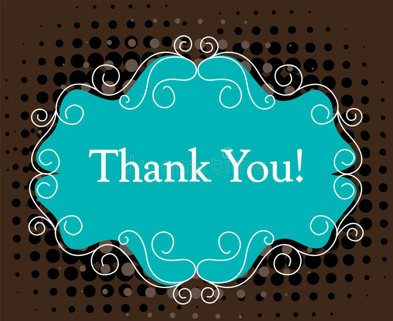 Download Thank you card stock vector. Image of color, appreciation - 24180902