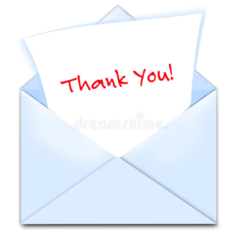 Free Thank You Card Royalty Free Stock Images - 5452879