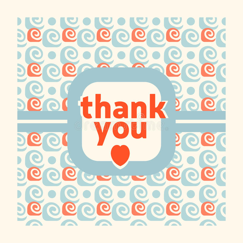 Thank you card design template stock vector illustration of download thank you card design template stock vector illustration of template thanks 43345009 spiritdancerdesigns Images