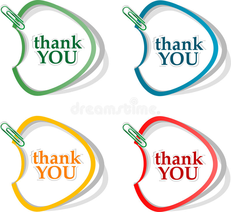 Download Thank You - Grateful Bubbles. Vector Stock Vector - Illustration of note, icon: 24996714
