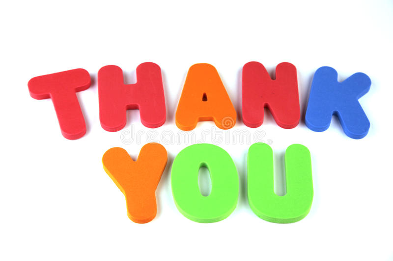 Download Thank You stock photo. Image of typography, word, complete - 43347628