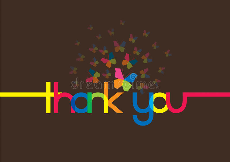 Thank You Message Stock Images Image 19914854