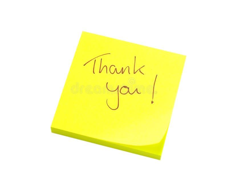 Thank you note stock photos