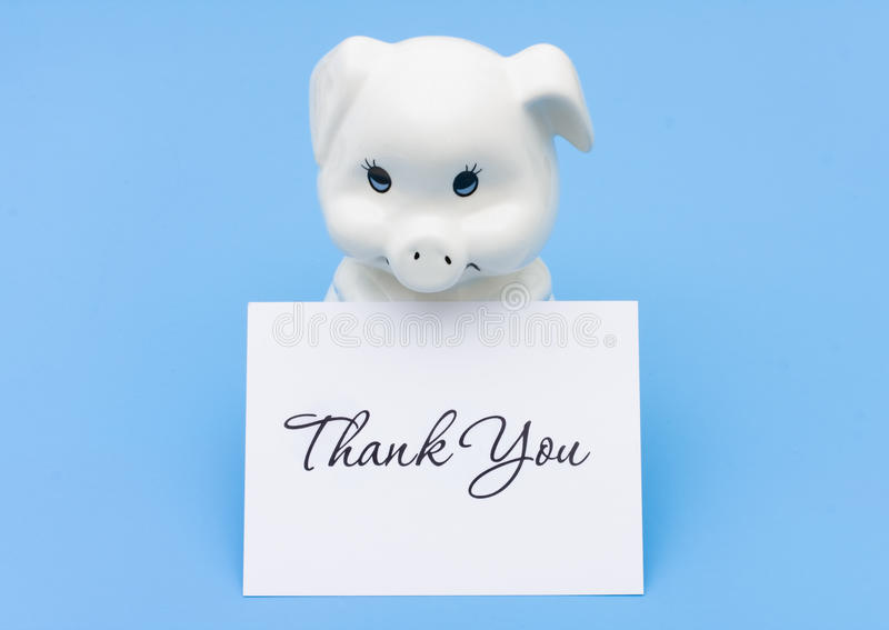 Download Thank You for Saving stock image. Image of invest, background - 13454637