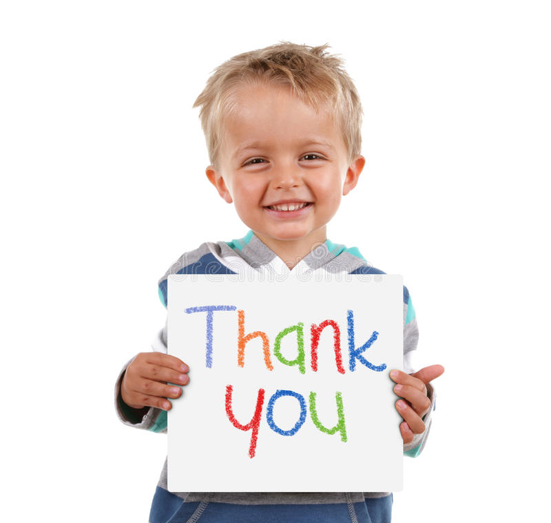 Free Thank You Sign Royalty Free Stock Image - 43179066
