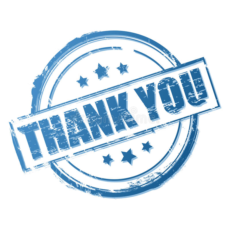 Download Thank You Stamp Stock Photography - Image: 21724092