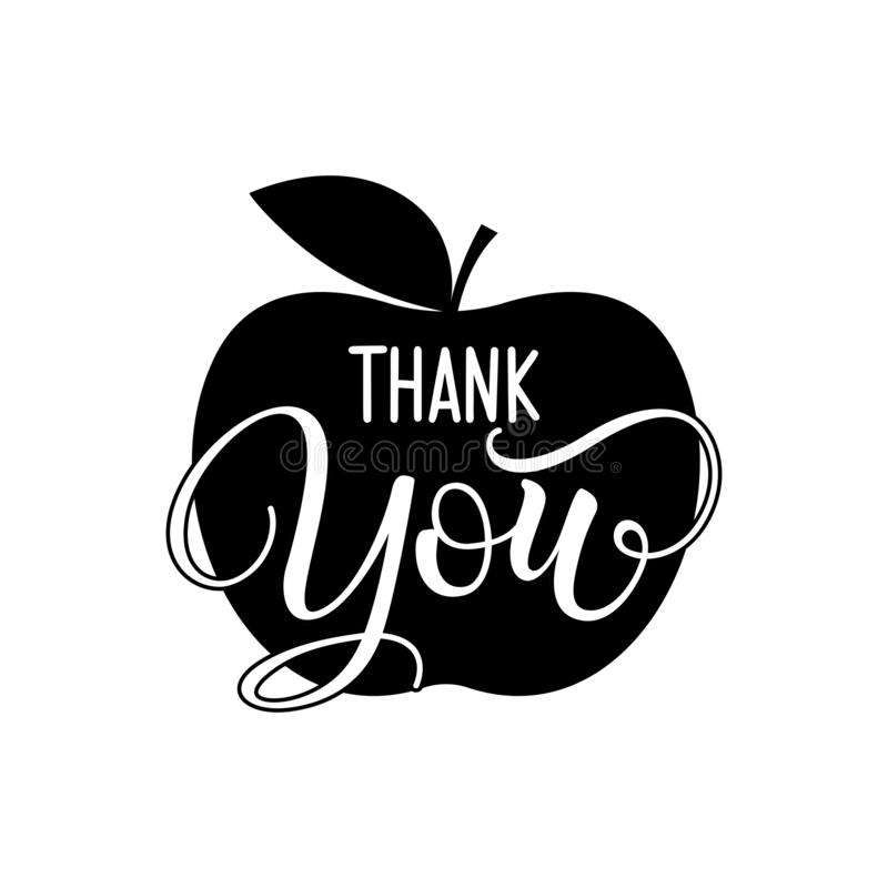 Thank you teacher / Students / School vector illustration