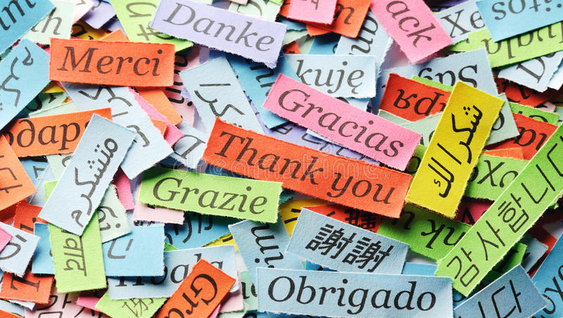Download Thank You stock image. Image of letters, concept, collage - 40787599