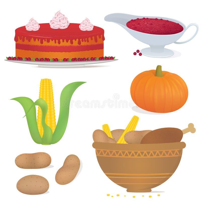 Thankfood illustrazione vettoriale