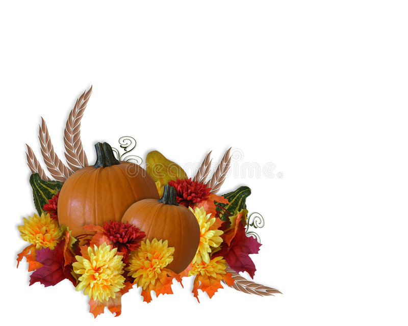 Download Thanksgiving Autumn Fall Background Stock Illustration - Image: 6906004