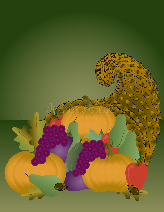 Download Thanksgiving Background stock illustration. Image of vine - 1410473