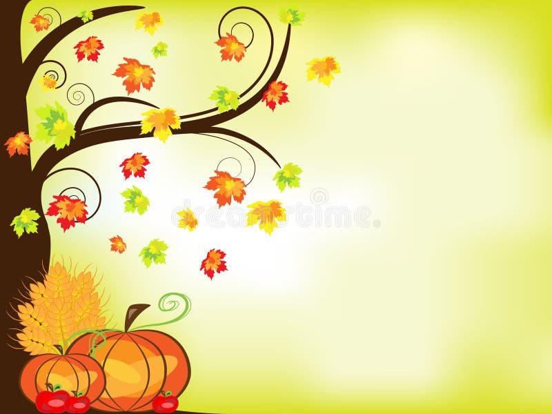 Thanksgiving background royalty free illustration