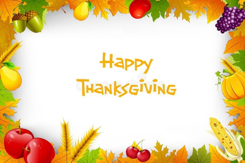 Thanksgiving Background stock illustration