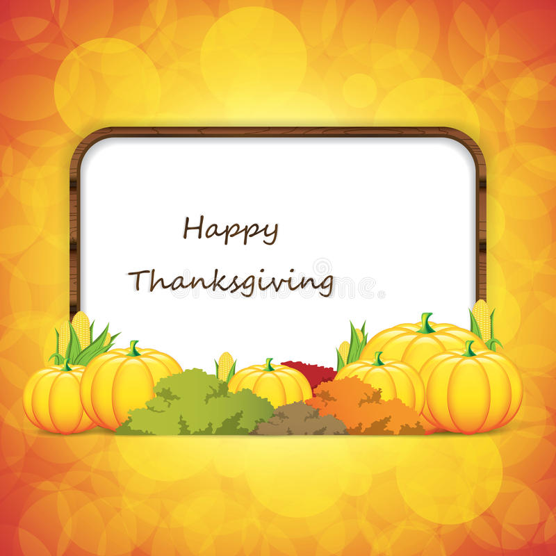 Download Thanksgiving background stock vector. Illustration of background - 34897668