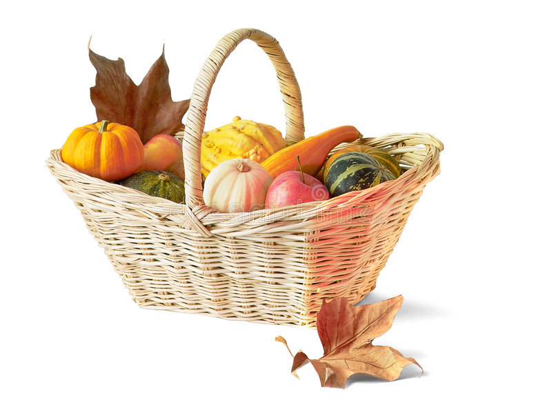 Download Thanksgiving Basket Royalty Free Stock Photo - Image: 250545