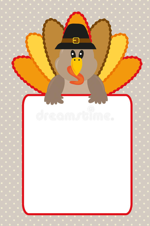 Download Thanksgiving card stock vector. Illustration of invite - 27591953