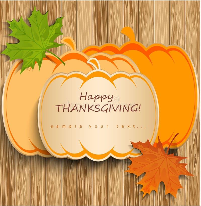 Download Thanksgiving card stock vector. Illustration of design - 35219673