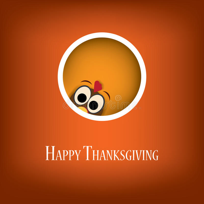 Thanksgiving card vector design with traditional royalty free illustration