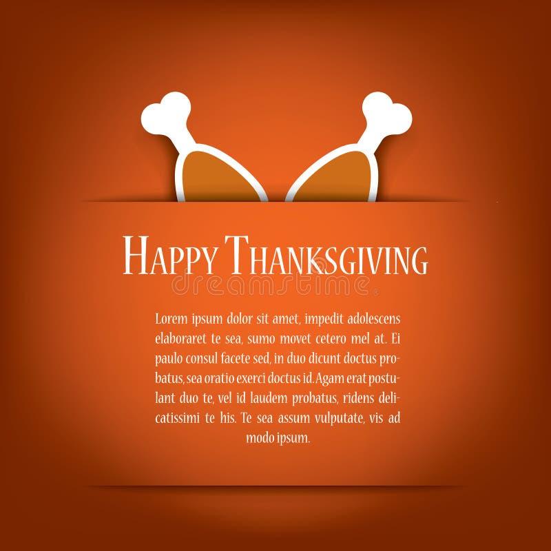 Thanksgiving card vector illustration design with vector illustration