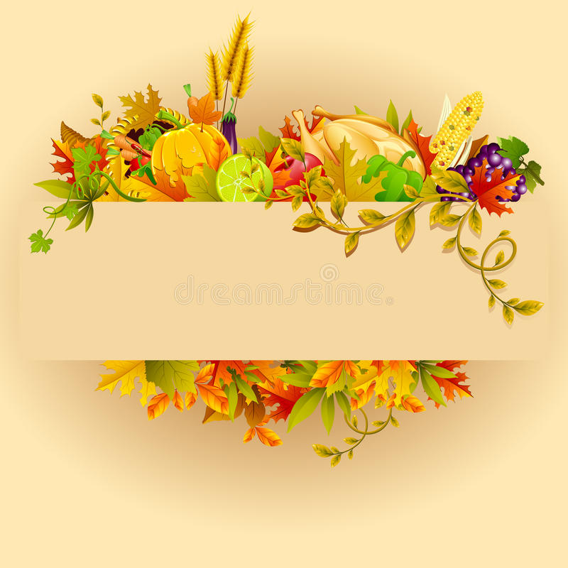 Thanksgiving Celebration vector illustration
