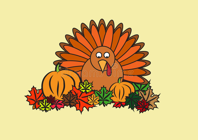 Thanksgiving clipart royalty free illustration