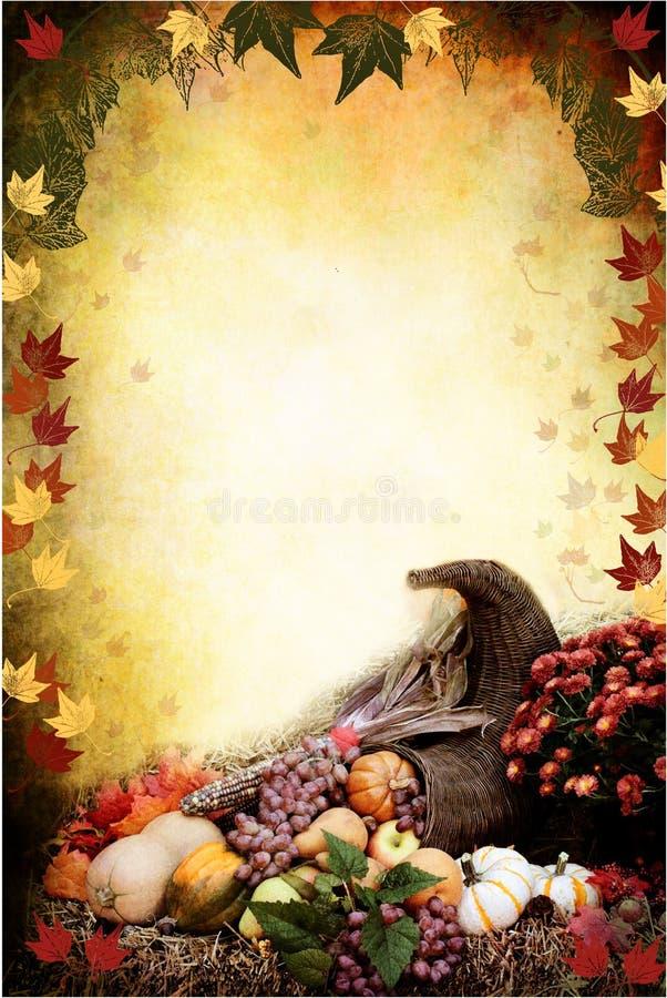 Thanksgiving Cornucopia vector illustration