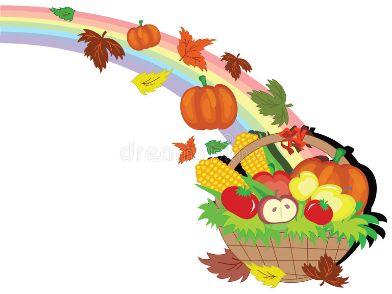 Thanksgiving day royalty free illustration